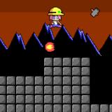 アクションフリーゲーム『ヘルメッ子』ジャンプハンマー