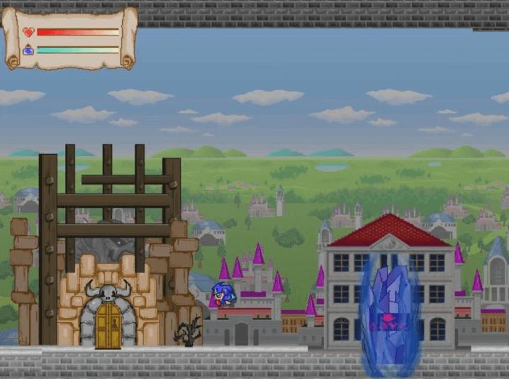 フリーゲーム『ラスボスの迷宮』ダンジョンの入り口