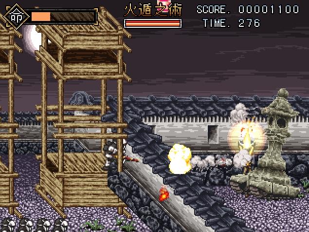 【おすすめ】フリーゲーム『METAL_SHINOBI_ASSASSIN』【アクション】
